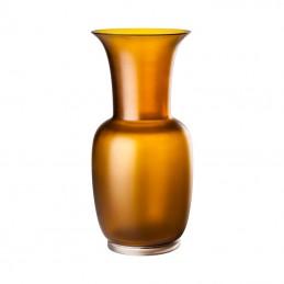 Venini Vaso Opalino Satin Tè /Cristallo  H. 42 cm 706. 24