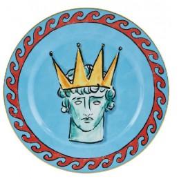 Richard Ginori Il Viaggio di Nettuno Dinner Plate 28 cm Sea Blue
