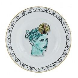 Richard Ginori Il Viaggio di Nettuno Soup Plate 24 cm White