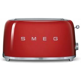 Smeg 4 Slice Toaster Red