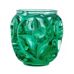 Lalique Tourbillons Vaso Piccolo Verde Menta Cristallo Ref. 10684900