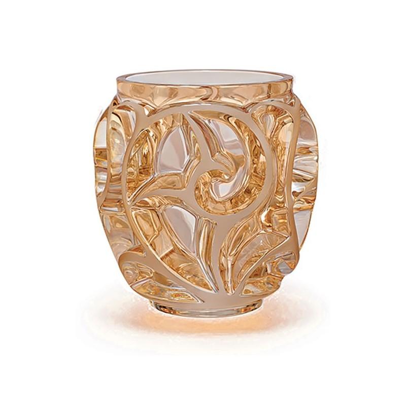 Lalique Tourbillons Vaso Piccolo Oro Lustro Ref. 10543800