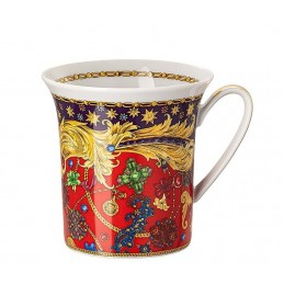 Versace Rosenthal Barocco Holiday Mug with Handle
