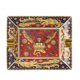 Versace Rosenthal Barocco Holiday Ashtray 16 cm