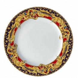 Versace Rosenthal Barocco Holiday Dessert Plate 22 cm