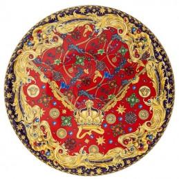 Versace Rosenthal Barocco Holiday Cake Plate 33 cm