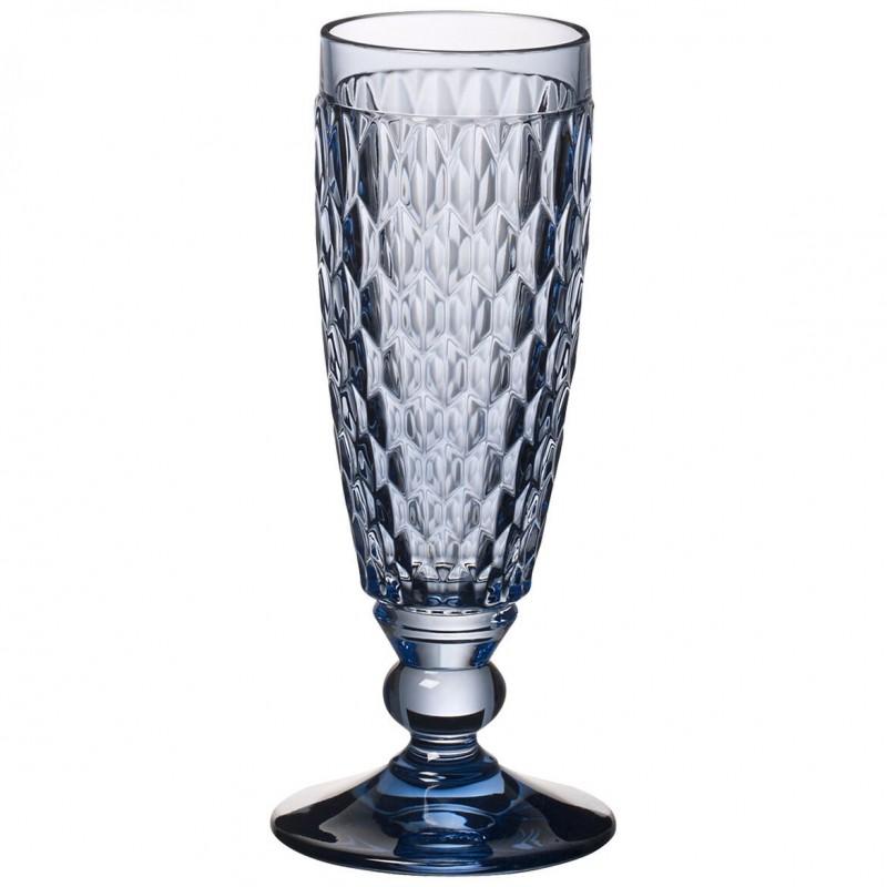 Villeroy & Boch Boston Coloured Set 4 Flute Champagne Rossi 0070