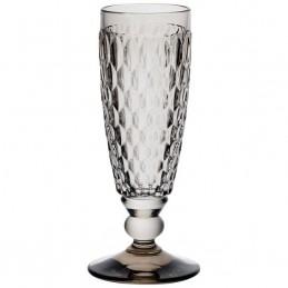 Villeroy & Boch Boston Coloured Set 4 Flute Champagne Smoke 0075