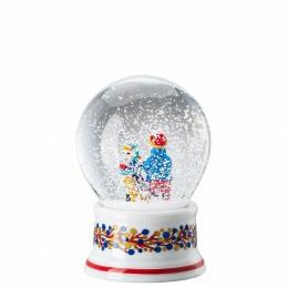 "Hutschenreuther Palla di Neve "" Dolci di Natale"" H. 12 cm"