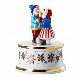 """Hutschenreuther Carillon Piccolo """"Dolci di Natale"""" Ø 9 cm, H. 11, 5 cm"""