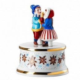 "Hutschenreuther Musical Box Small "" Christmas Bakery"""