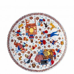 "Hutschenreuther Biscuit Plate 28 cm ""Christmas Bakery"""