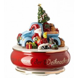 "Hutschenreuther Musical Box Large ""Tomorrow comes Santa Claus"""