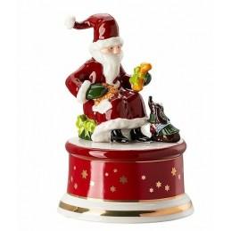 "Hutschenreuther Musical Box Small ""Tomorrow comes Santa Claus"""