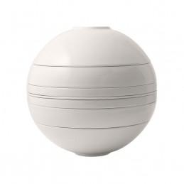 Villeroy & Boch Iconic La Boule White, Bianco 7 Pz Stoviglie