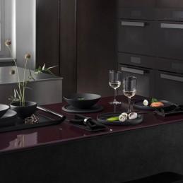 Villeroy & Boch Iconic La Boule Black Dinnerware Set 7 Pcs