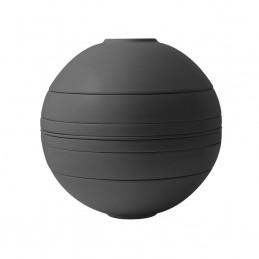 Villeroy & Boch Iconic La Boule Black, Nero 7 Pz Stoviglie