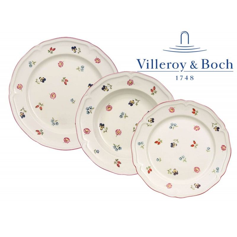 Villeroy & Boch Petite Fleur Servizio Piatti 18 Pz