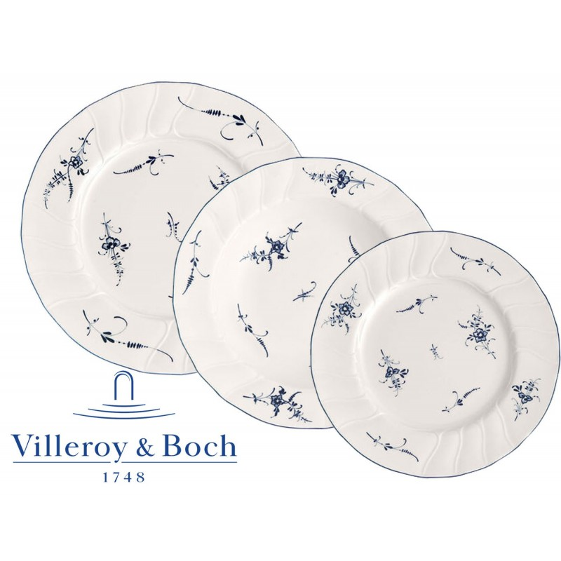 Villeroy & Boch Vieux Luxembourg Servizio Piatti 18 Pz