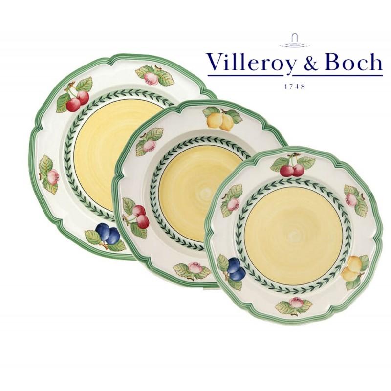 Villeroy & Boch French Garden Fleurence Servizio Piatti 18 Pz
