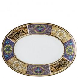 Versace Barocco Mosaic Piatto Ovale 38 cm