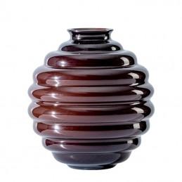 Venini Deco Vase oxblood red / Oxblood red H. 29 cm 707. 10