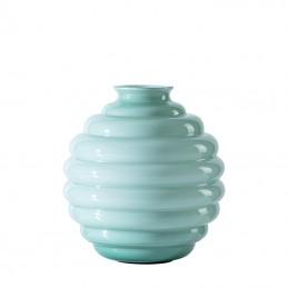 Venini Deco Vase Rio Green / Rio Green H. 18 cm 707. 08
