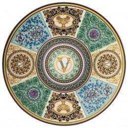 Versace Rosenthal Barocco Mosaic Service Plate 33 cm