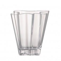 Rosenthal Vaso Flux 26 cm in Cristallo