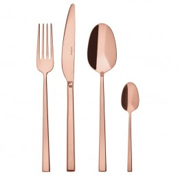 Sambonet Rock Pvd Copper Flatware Set 24 pcs 52762P81