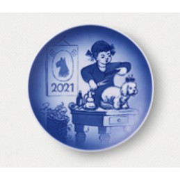 Bing & Grondahl Children' s Day Plate 2021
