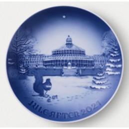 Bing & Grondahl Christmas Plate 2021
