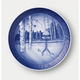 Royal Copenhagen Christmas Plate 2021
