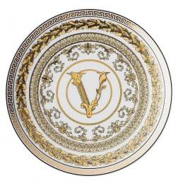 Versace Rosenthal Virtus Gala White Plate 17 cm