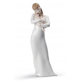 Lladrò Goodnight My Angel Mother Figurine Ref. 01008714
