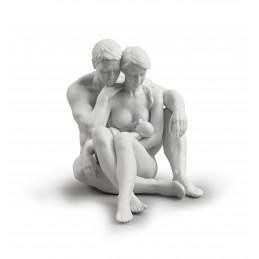 Lladrò Statua Famiglia L'Essenza della Vita Ref. 01008589