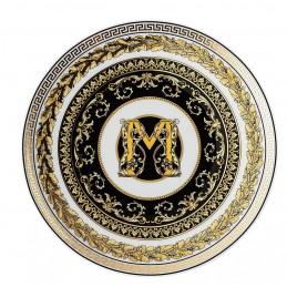 Versace Virtus Alphabet M Piatto Piano 17 cm