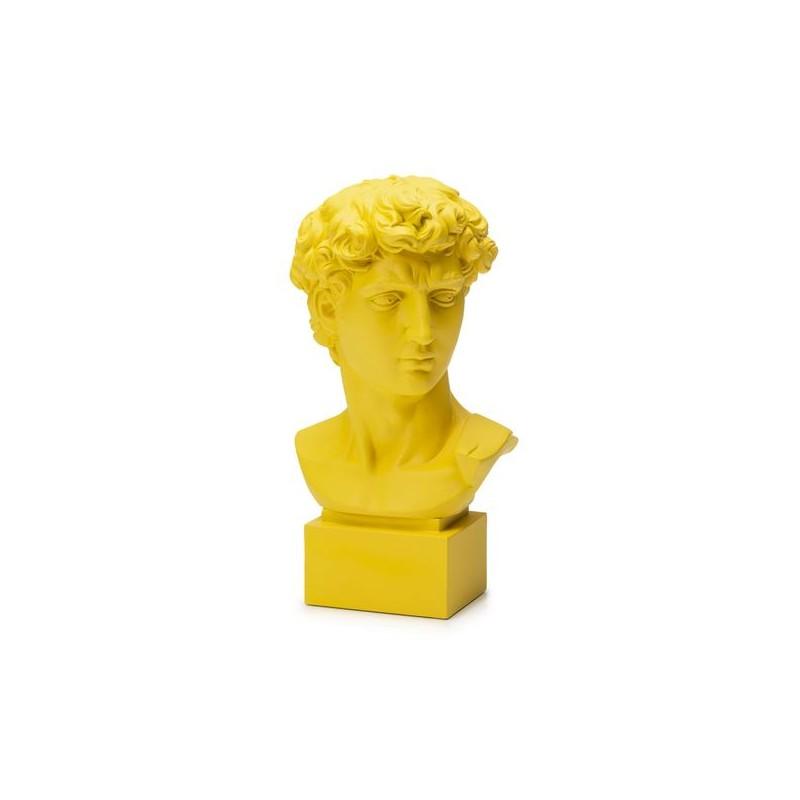 Palais Royal - Lamart Yellow Bust David by Michelangelo H. 35 cm Ref. 1037179