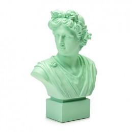 Palais Royal - Lamart Busto Verde Acqua Apollo H. 35 cm Ref. 1037178