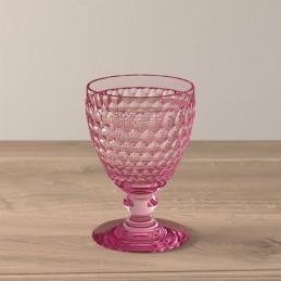 Villeroy & Boch Boston Coloured Set 4 Pcs White Wine Glasses Rose 0034