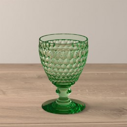 Villeroy & Boch Boston Coloured Set 4 Pcs White Wine Glasses Green 0032