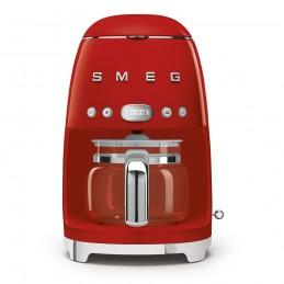 Smeg Macchina Caffe Filtro Rossa Estetica Anni 50 DCF01RDEU