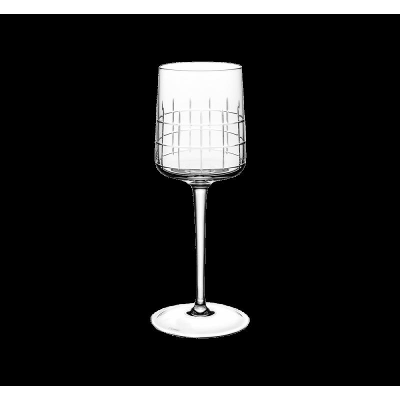 Christofle Graphik Red Wine Glasses Set 6 Pcs Ref. 07945002