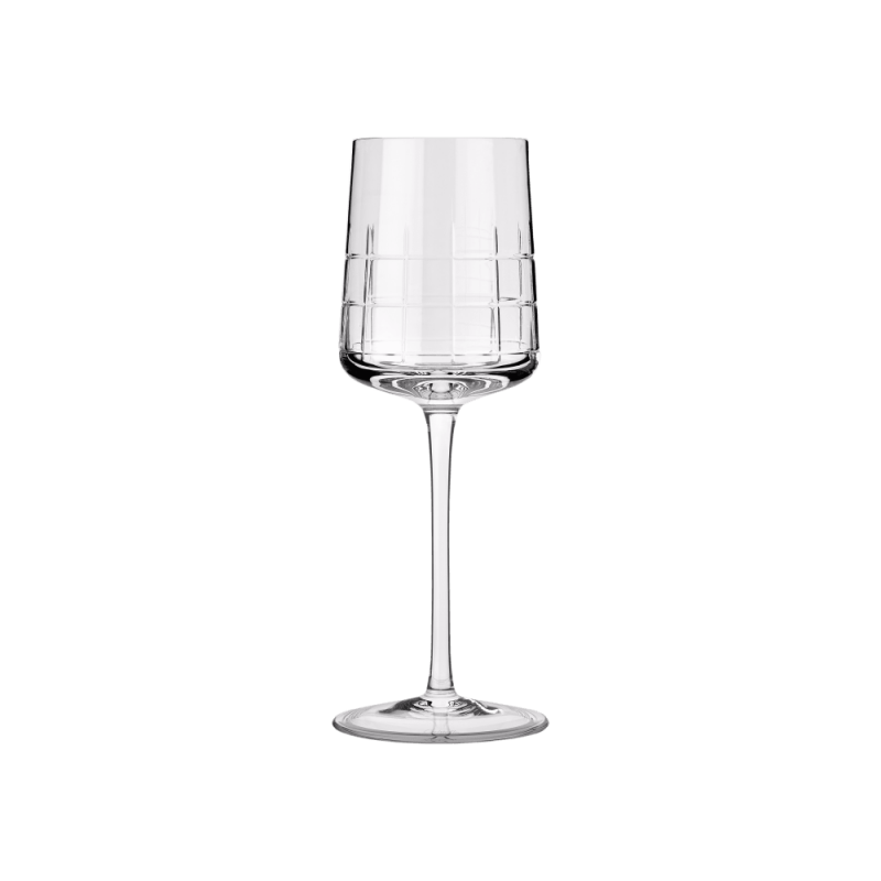 Christofle Graphik White Wine Glases Set 6 Pcs Ref. 07945003