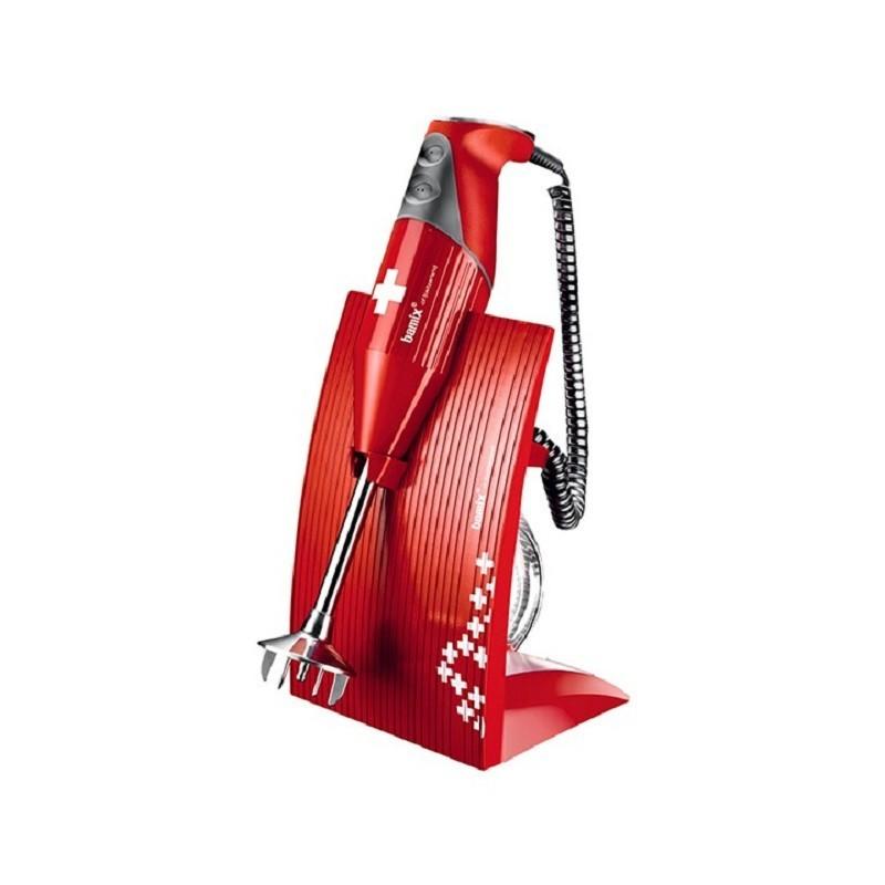 Bamix Swissline Rosso Frullatore ad Immersione BX SL RD