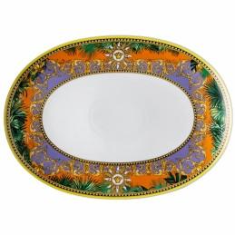 Versace Rosenthal Jungle Animalier Oval Platter 38 cm