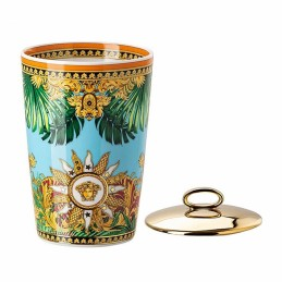 Versace Rosenthal Jungle Animalier Table Light 2 Pcs with Scented Wax