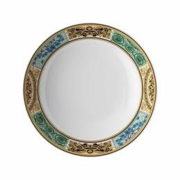 Versace Rosenthal Barocco Mosaic Soup Plate 22 cm