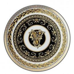 Versace Virtus Alphabet V Piatto Piano 17 cm