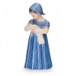 Royal Copenhagen Figurine Mary with Blue Dress Mini Ref. 5021099